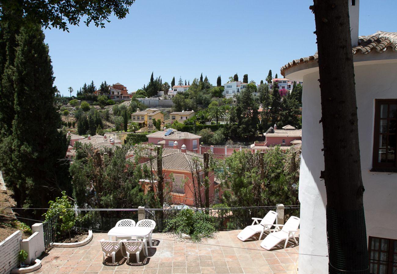 Villa i Fuengirola - Casa Jazmines - Stor familievilla ved Fuengirola Malaga