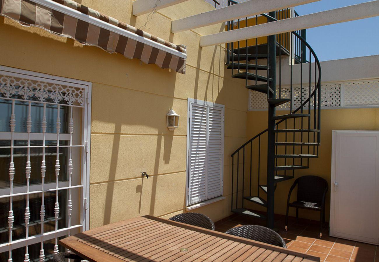 Ferielejlighed i Torremolinos - Violin Torremolinos, 2 private terrasser