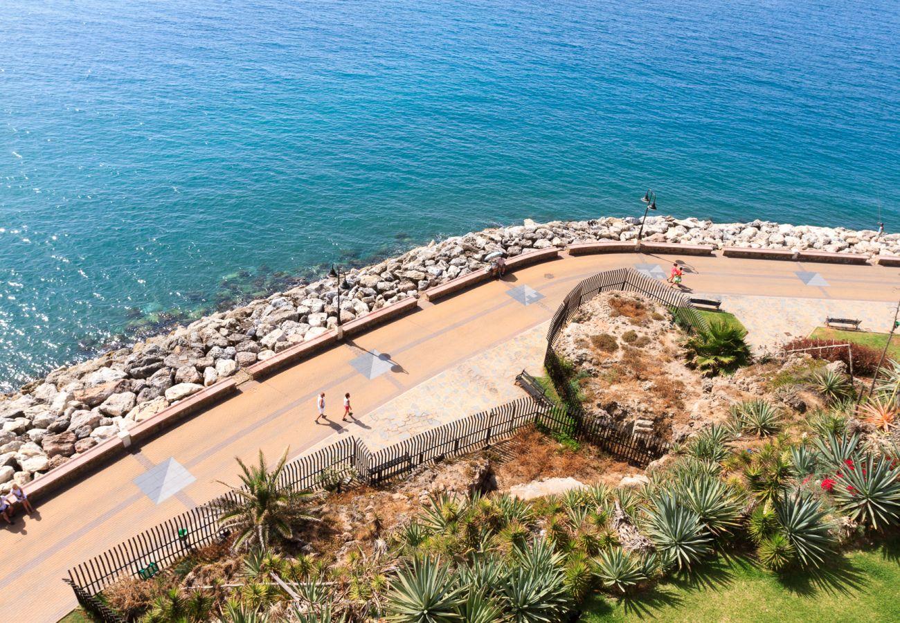 Ferielejlighed i Torremolinos - Castillo Santa Clara Torremolinos - Elevator direkte til stranden