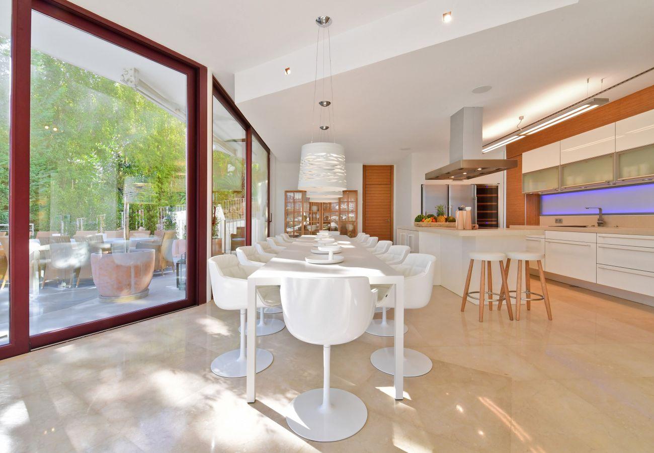 Villa i Marbella - Casa Blanca Marbella - Eksklusiv Luksus Villa