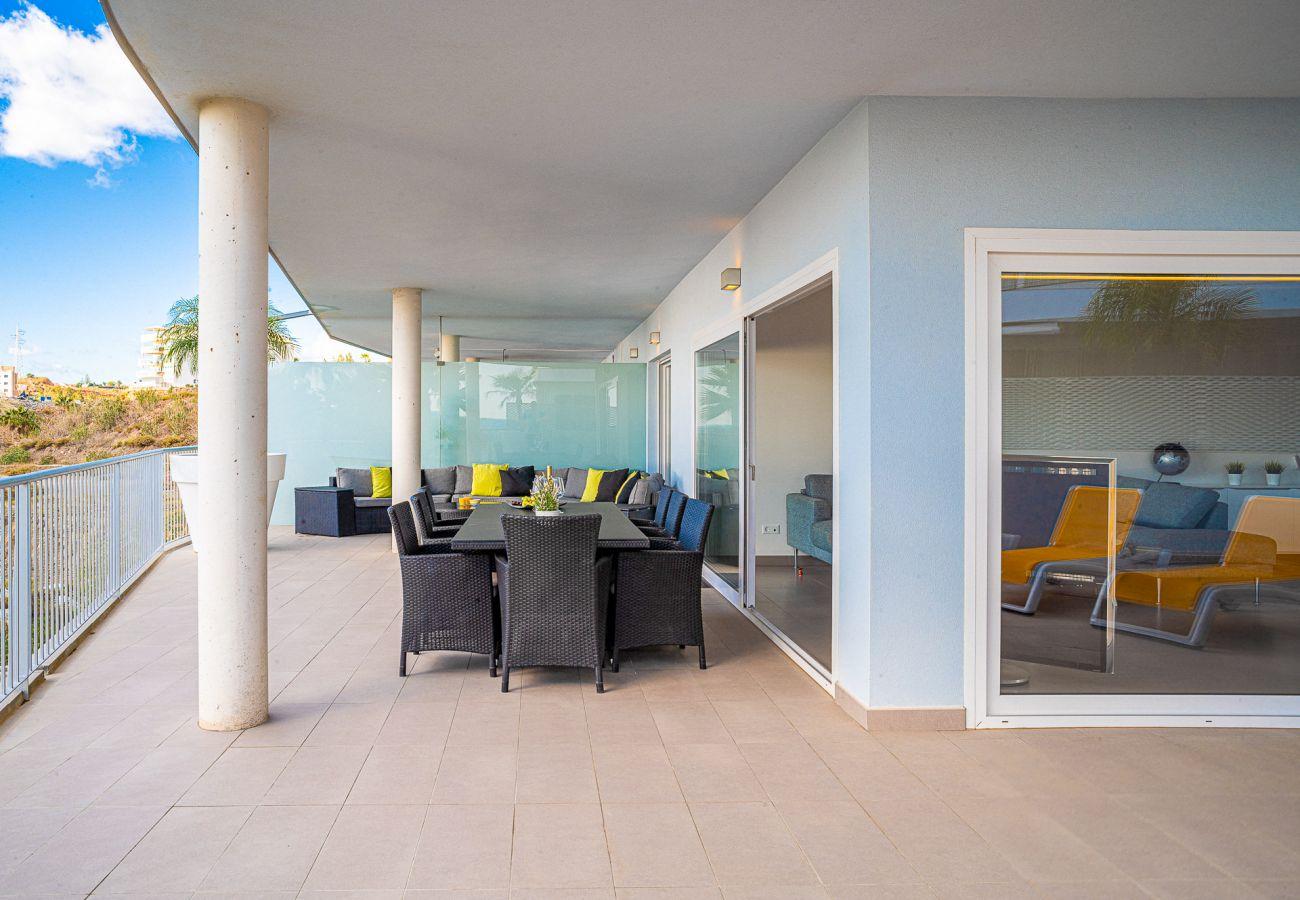 Ferielejlighed i Benalmadena - South Beach Higueron - Luksuslejlighed ved Malaga