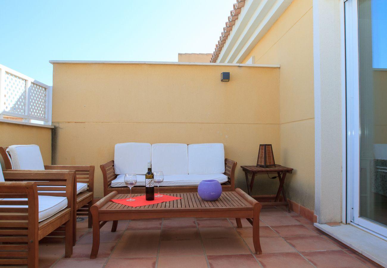 Ferielejlighed i Algarrobo - Penthouse Ana - gåafstand til strand og restauranter