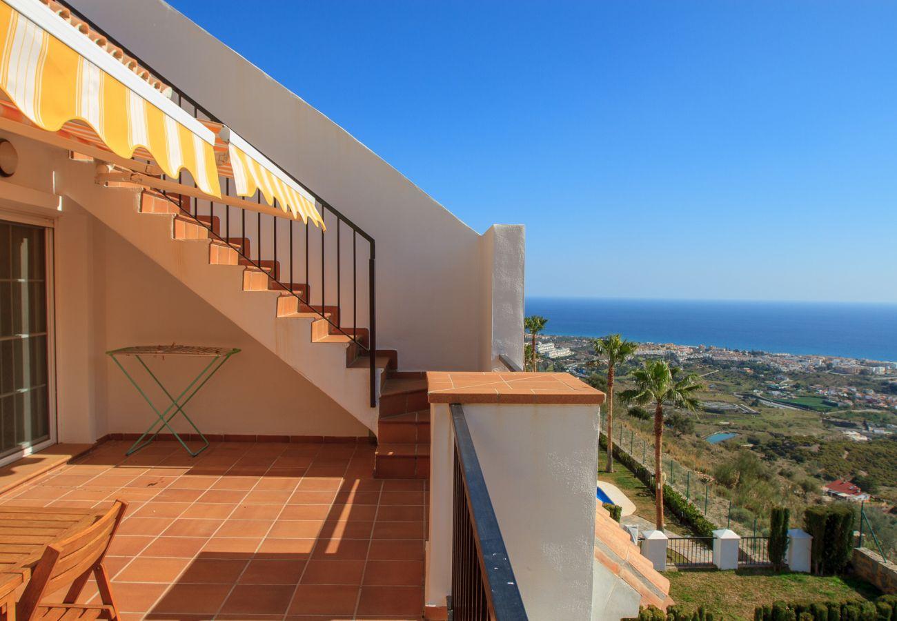 Ferielejlighed i Rincón de la Victoria - Aaron - Unik udsigt til Middelhavet ved Malaga-bugten