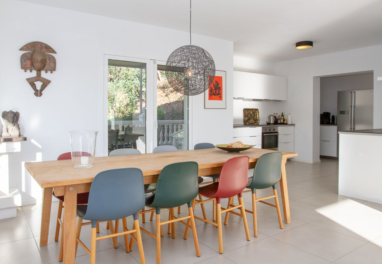 Villa i Benalmadena - Villa Diann - Stor Privat Pool Villa med havudsigt nær Malaga