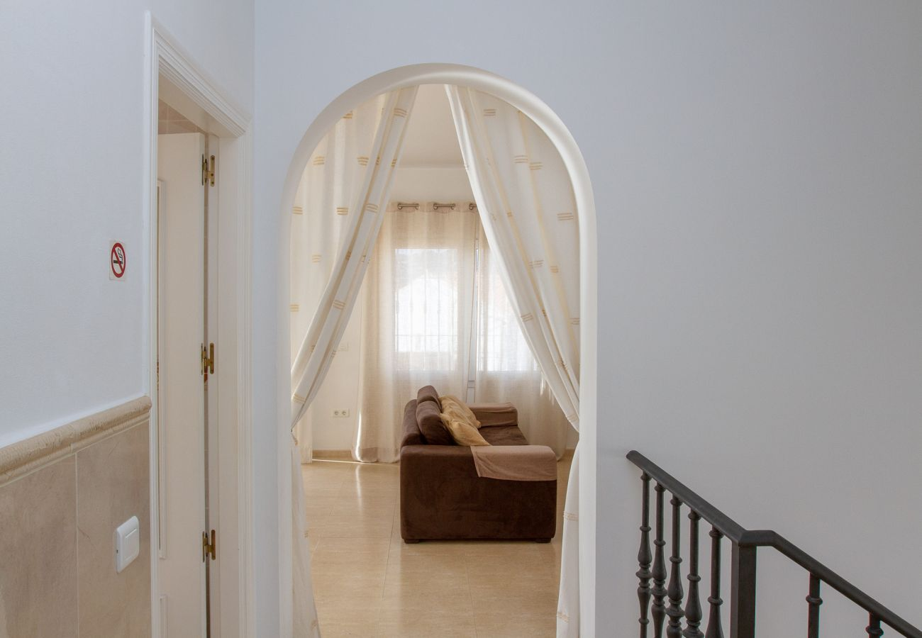 Villa i Nerja - La Noria - Charmerende villa med privat swimmingpool i Nerja