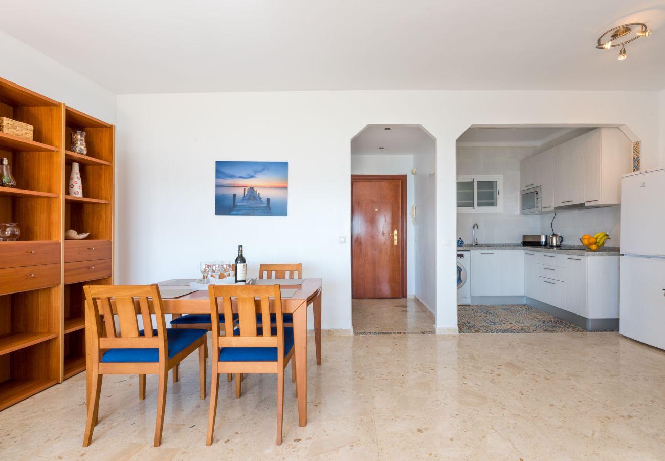 Ferielejlighed i Mijas Costa - Algaida Beach Apartment, Calahonda de Mijas