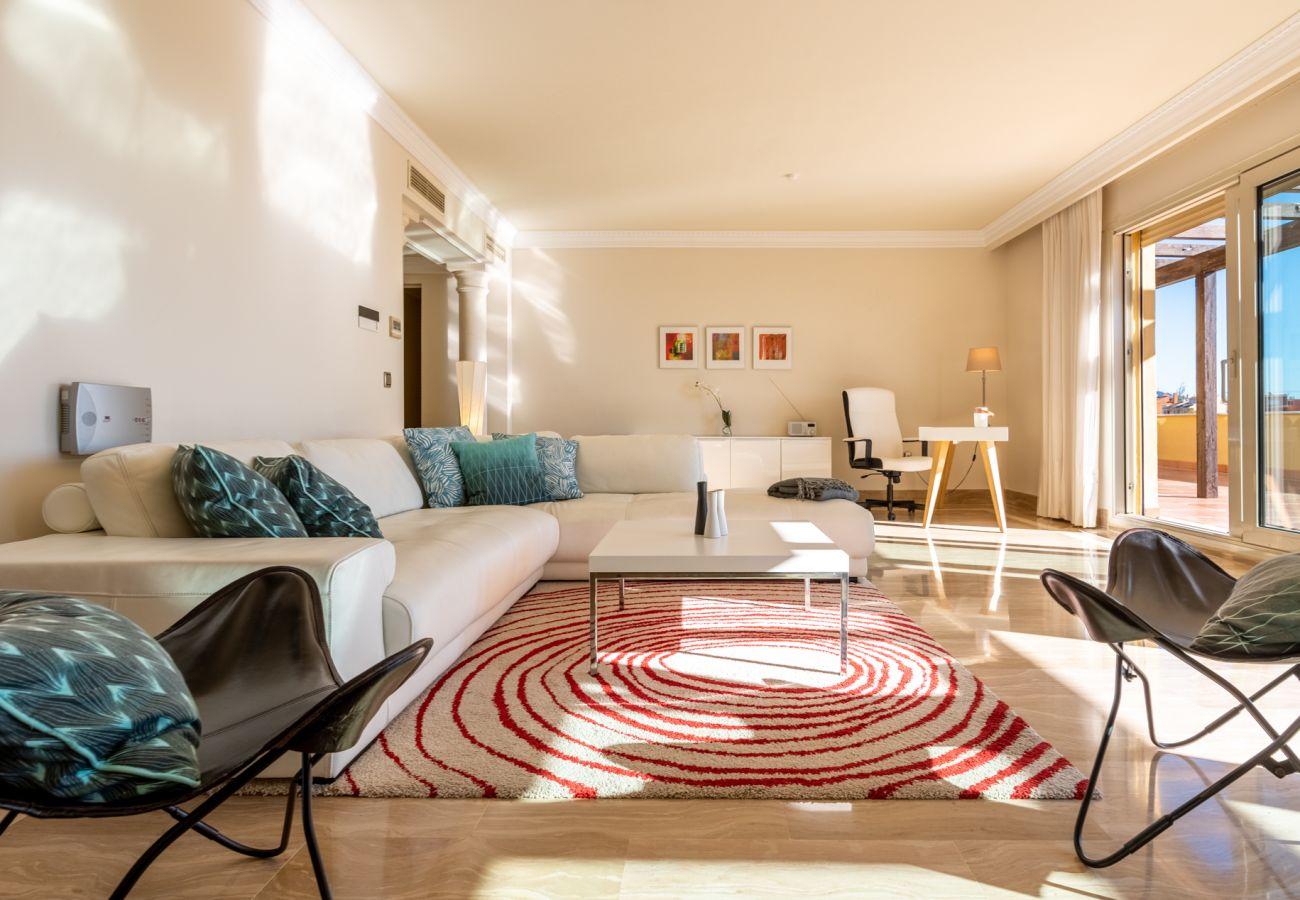 Ferielejlighed i Marbella - Sierra Blanca, Marbella - Eksklusiv Luksus Skandinavisk indrettet
